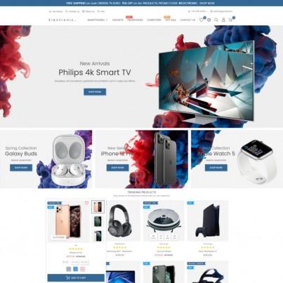 Elextra - Electronics, Computers & Phones Prestashop Theme