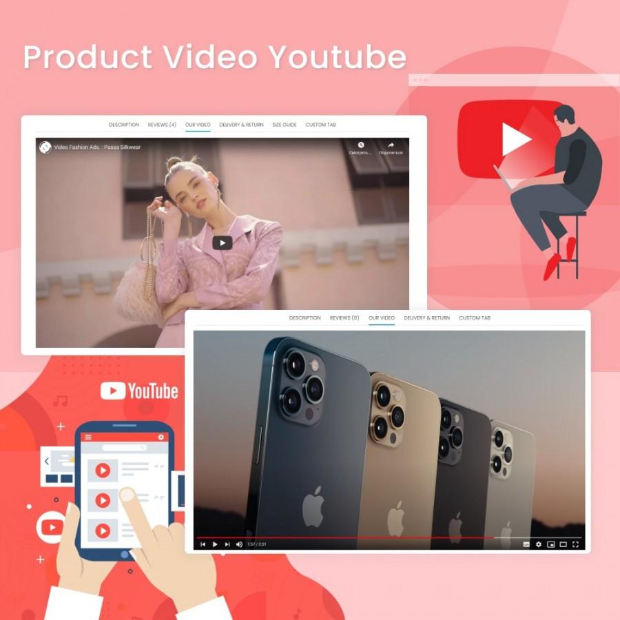 Product Video Youtube Prestashop Module