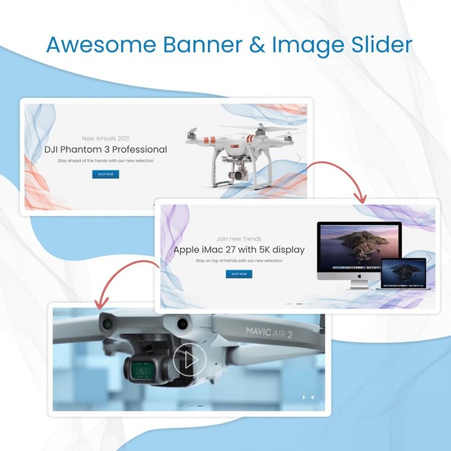Awesome Banner & Image Slider Prestashop Module