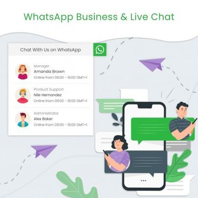WhatsApp Business & Live...