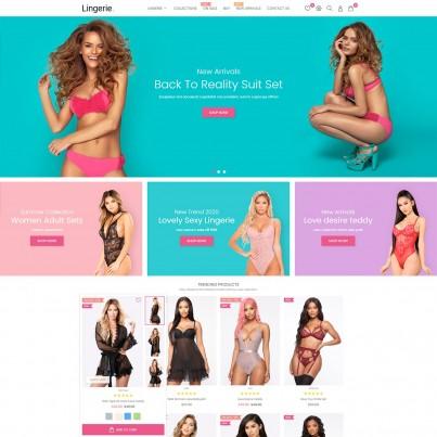 Anabelle Lingerie - Fashion SexShop, Toys,  Prestashop Theme