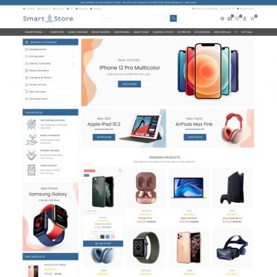 Smart Store - Computers, Mobile Devices Prestashop Theme