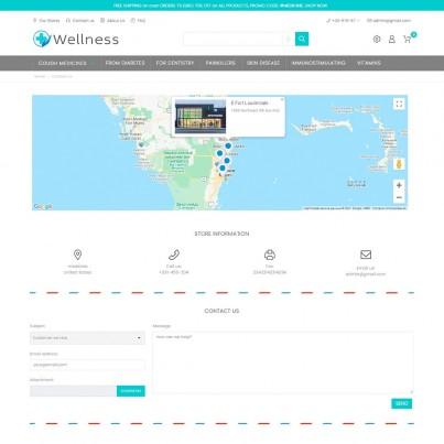 Wellness –  Medicine & Drug Prestashop Theme