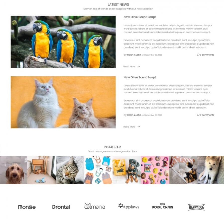 Little Friends - Animals & Food Prestashop Theme