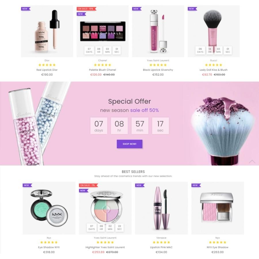 Queen Salon - Health & Beauty Prestashop Theme