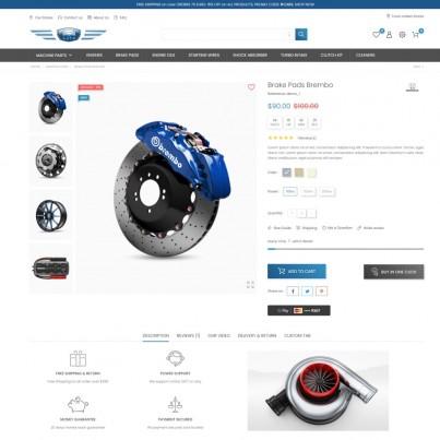 Fast Car - Auto & Bike, Sport & Games, Tools Prestashop Theme