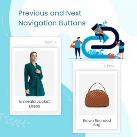 Navigation Previous / Next Buttons On Product Page Prestashop Module