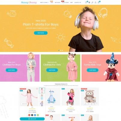 Sunny Bunny - Baby Clothes & Toys Prestashop Theme