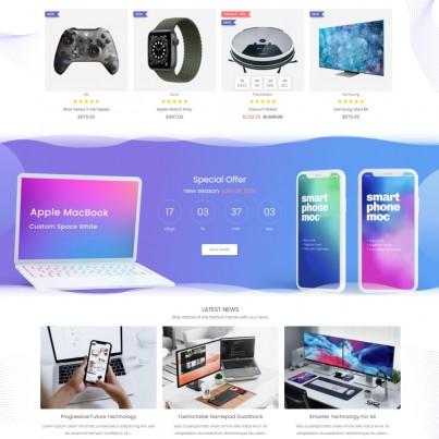 Gadget & Electronics - Hi-Tech Phones, Computers, Watches Prestashop Theme