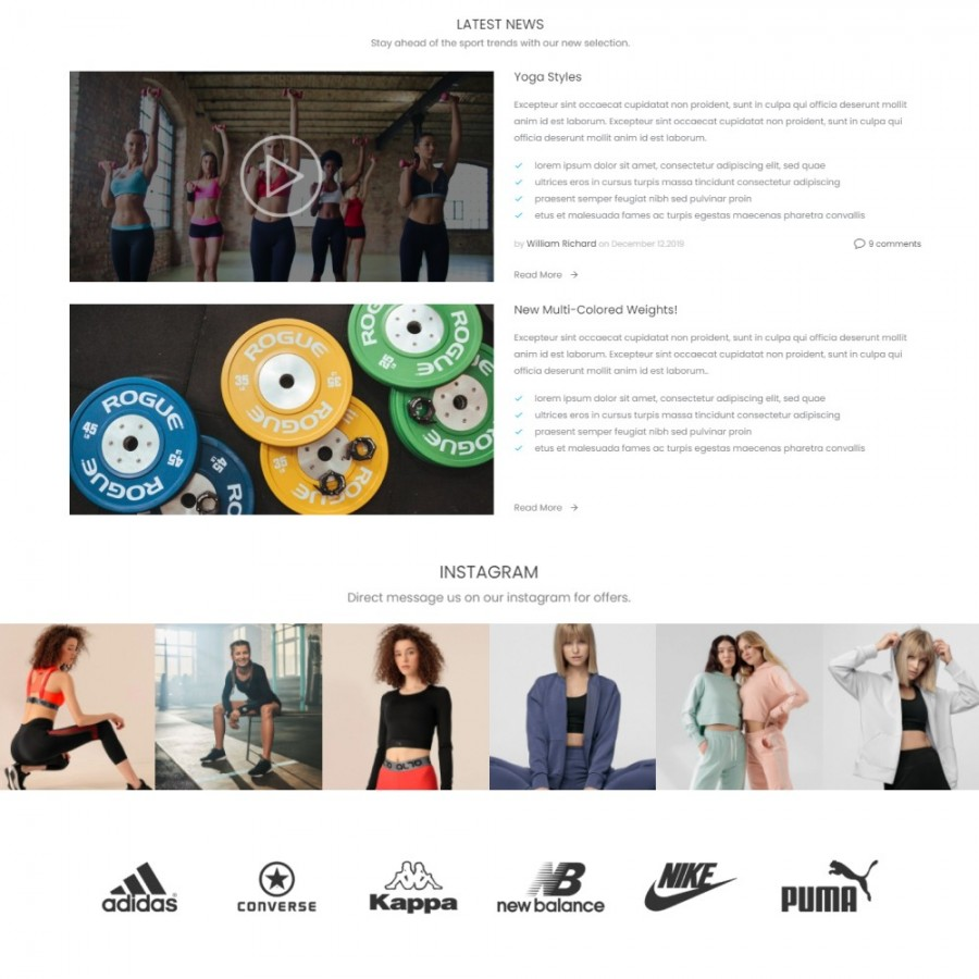Sport Life – Fitness & Trave, Activities & Bike Prestashop Theme