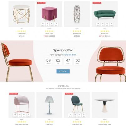 Vavilon - Furniture & Interior, Decor Prestashop Theme