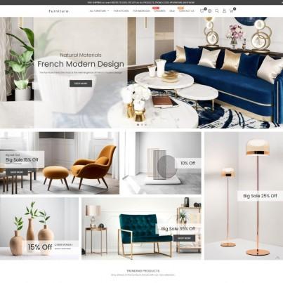 Modern Home - Furniture & Interior Prestashop Theme