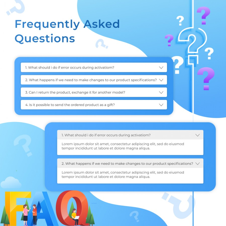 FAQ Page - Frequently Asked Questions Prestashop Module