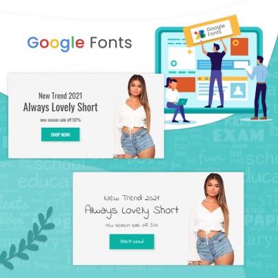 Google Fonts Typography & Design Prestashop Module
