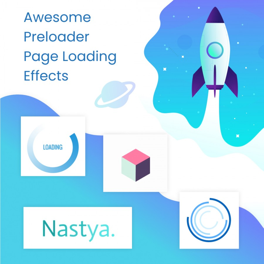 Awesome Preloader Page Loading Effects Free Prestashop Module
