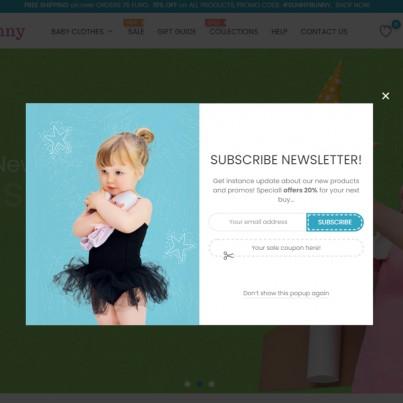 Advanced Newsletter Popup Free Prestashop Module