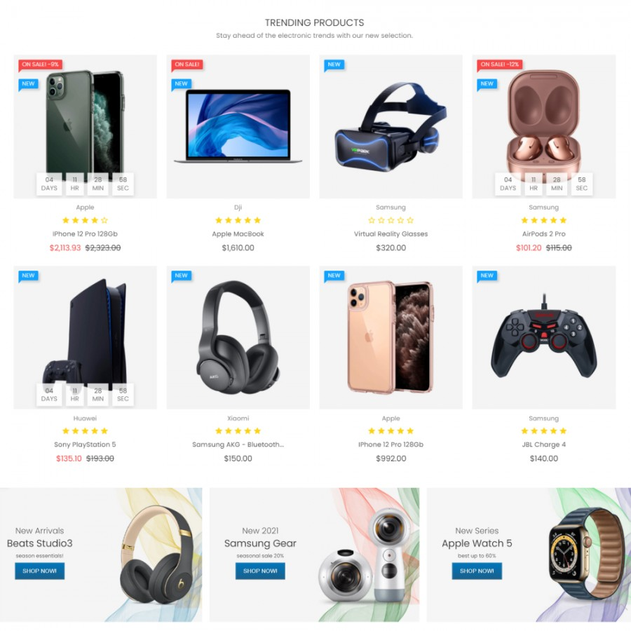 Product Discounts with Countdown Prestashop Module