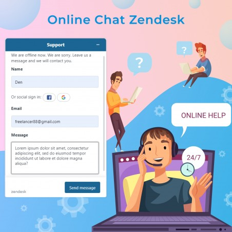 Online Chat Zendesk Prestashop Module