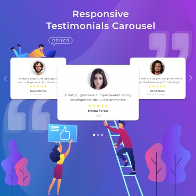 Testimonials and Reviews Slider & Blocks Prestashop Module