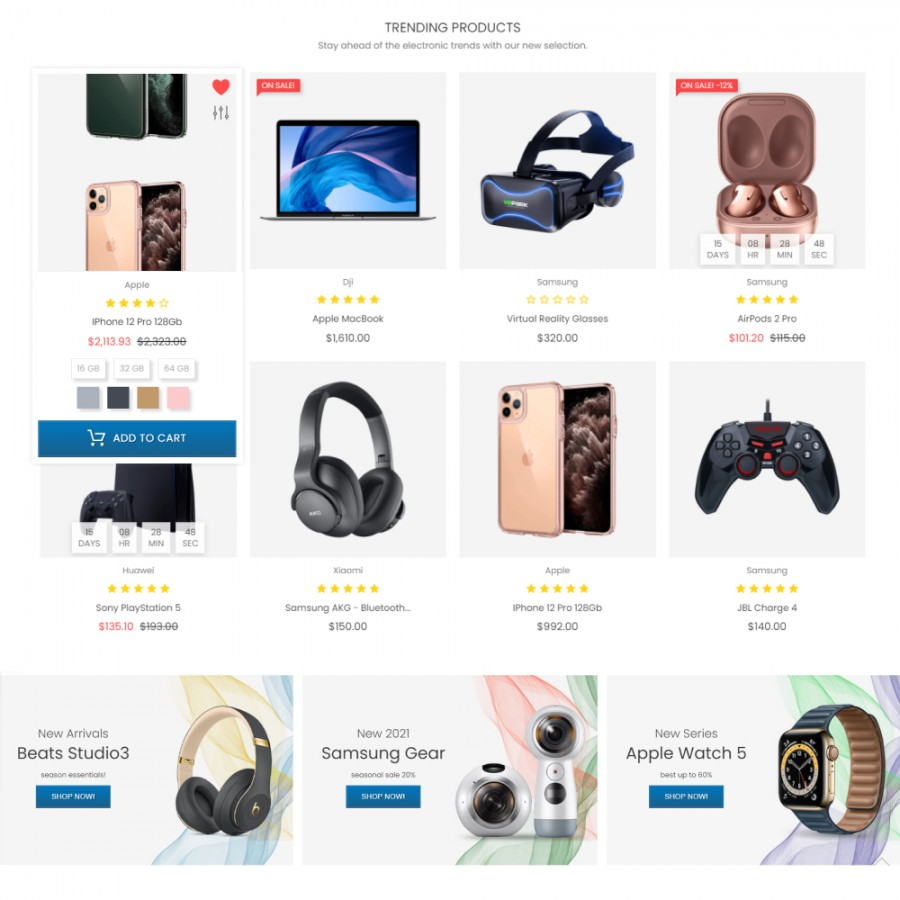 Rollover Product Images - Hover Second Image Prestashop Module